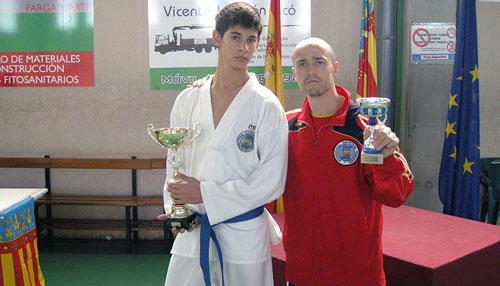 El ibense Alexis Vicedo consigue el oro en el Campeonato Nacional de Taekwondo ITF