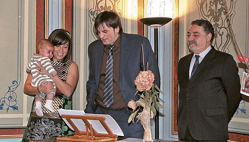 El Archivo acoge el primer bautizo civil en Ibi