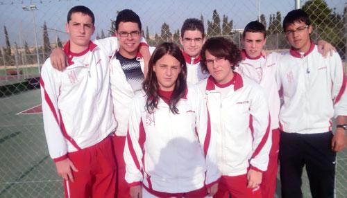El equipo Cadete del Club de Tenis Teixereta de Ibi, directo a la final