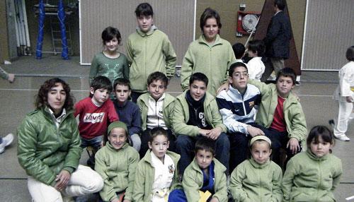 El Judo Club de Castalla consigue trece medallas en tierras murcianas