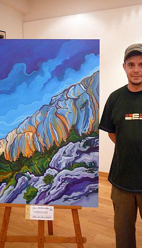 Miguel Mellado de Murcia y Jesús Guillem de Ibi ganan el VI concurso de Pintura Rápida