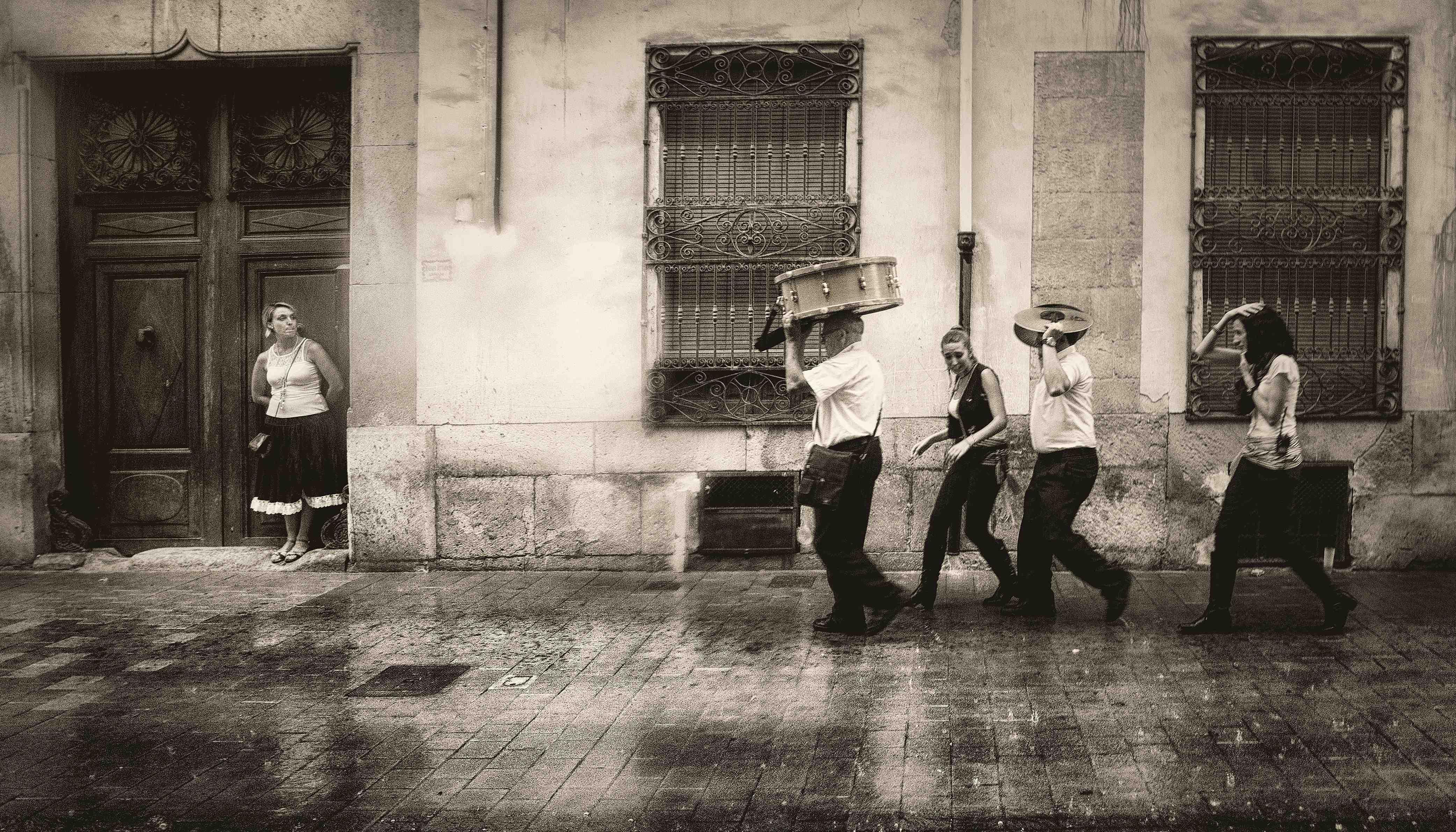Exposición fotográfica del XLV Concurso de Fiestas de Castalla en la Casa de Cultura