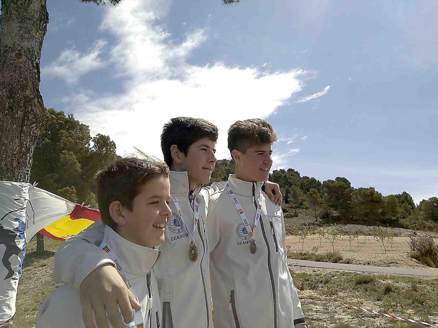 Amics de les Muntanyes copa el podio en la final de los JECV de Orientación