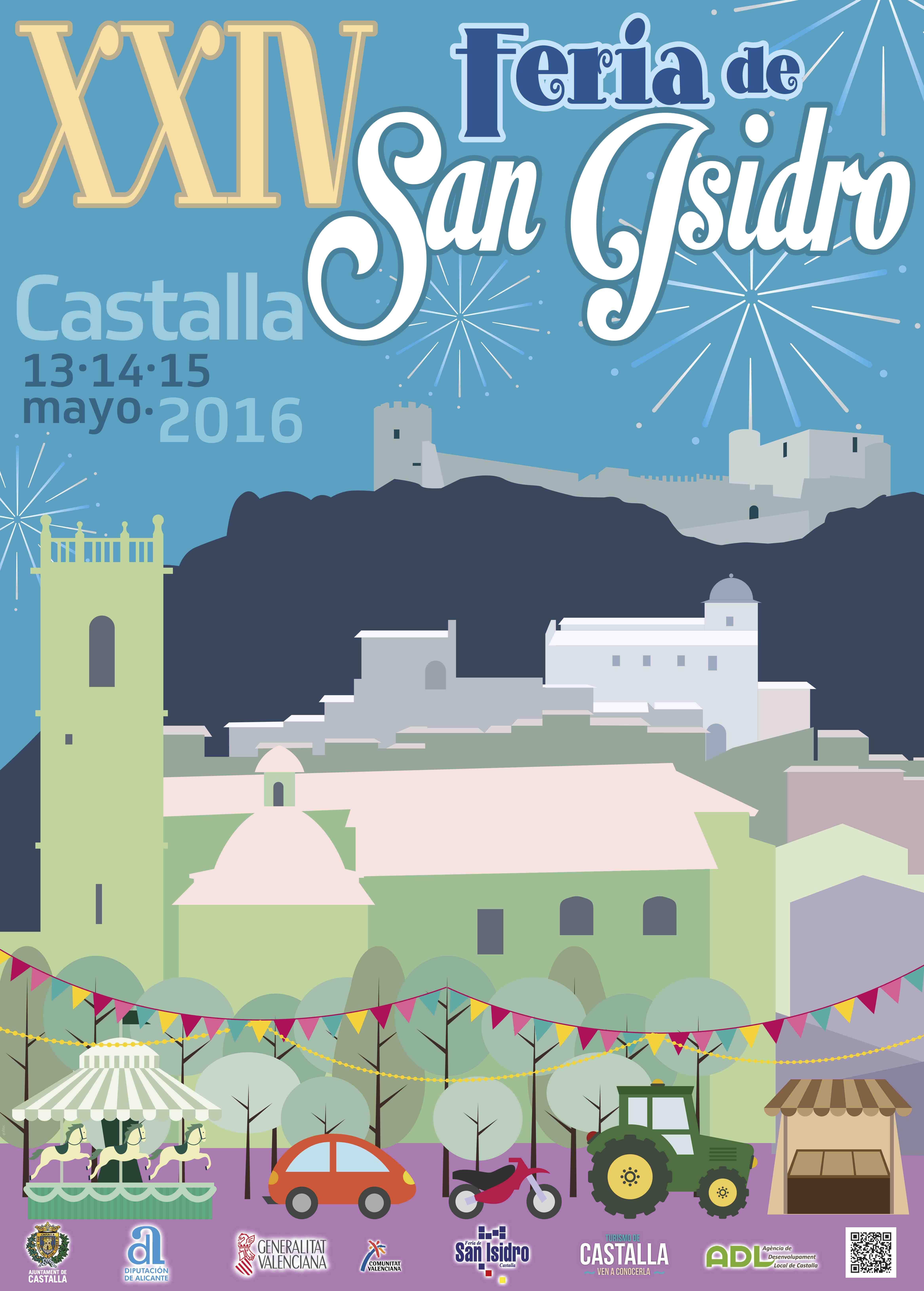 La Feria de San Isidro de Castalla cumple 24 años con la participación de 300 expositores en 75.000 metros cuadrados