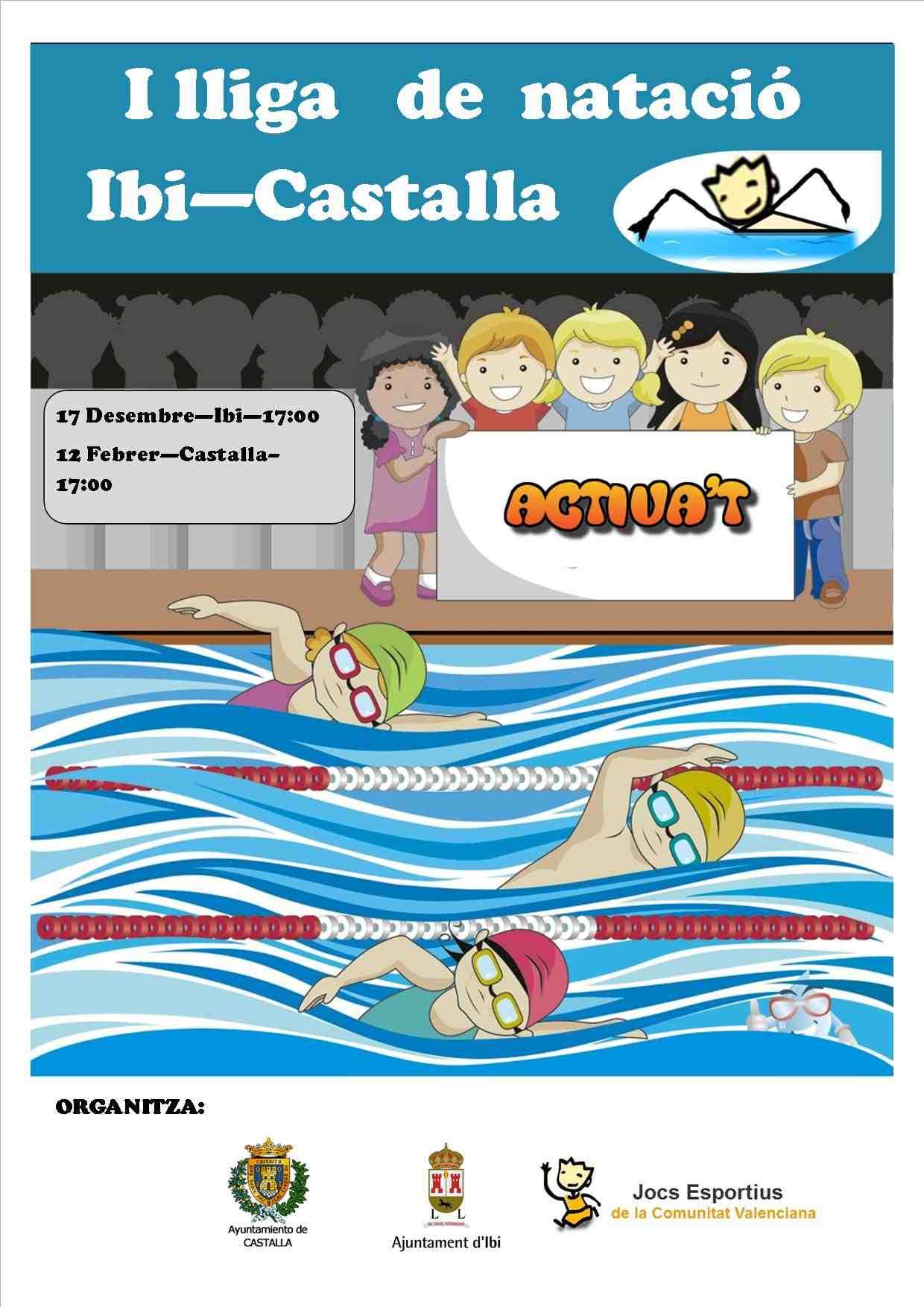 Ibi, Castalla y Alcoy organizan una liga comarcal de natación