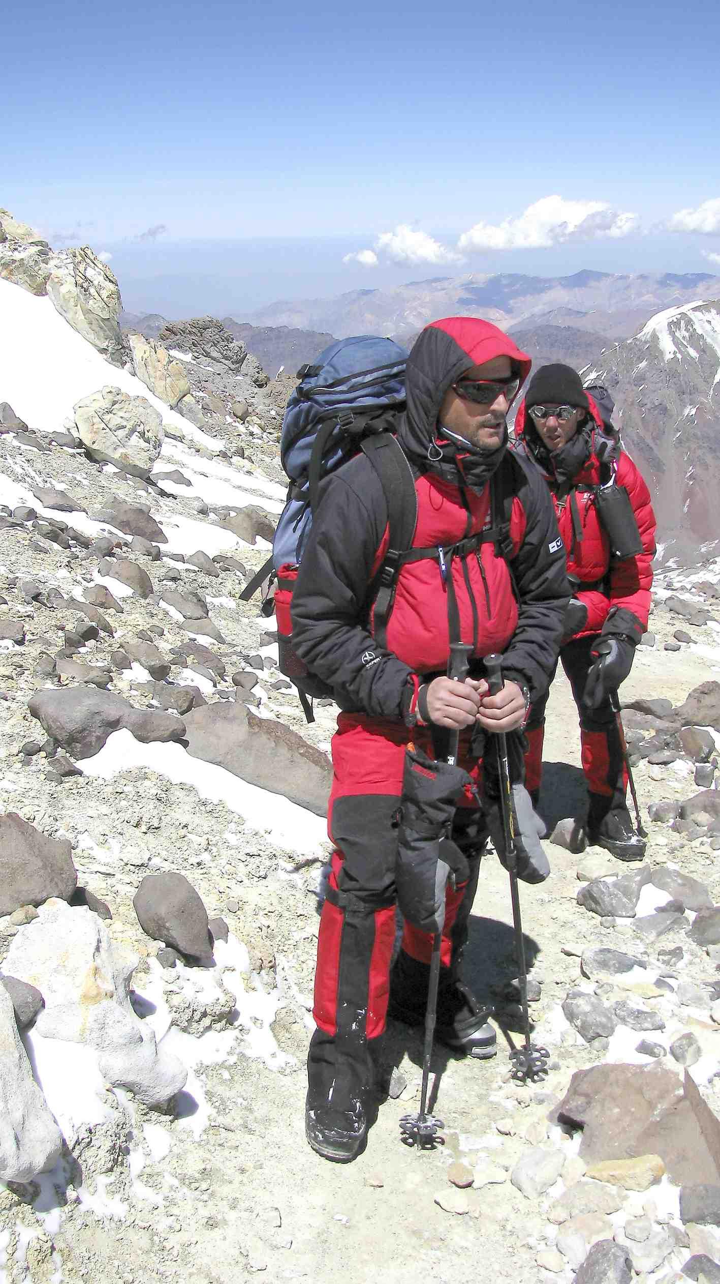 Los ibenses Rafa Verdú y Javier Teruel preparan su nuevo reto: coronar Ojos del Salado, el volcán más alto del mundo