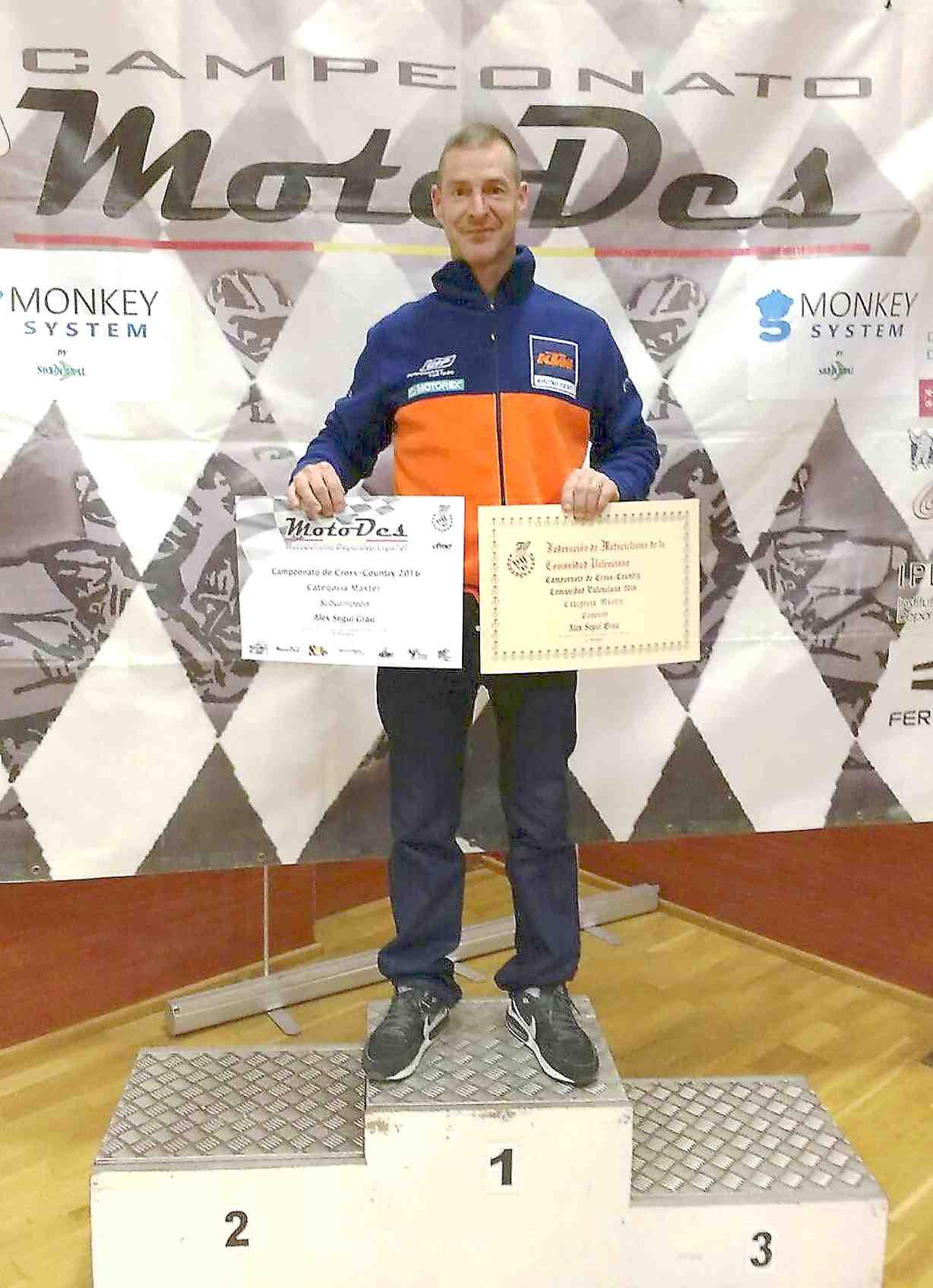 Álex Seguí, campeón de la Comunidad Valenciana de Cross Country