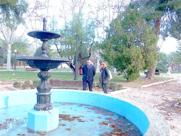 Las obras de adecuación del parque Derramador ascenderán a 60.000 euros