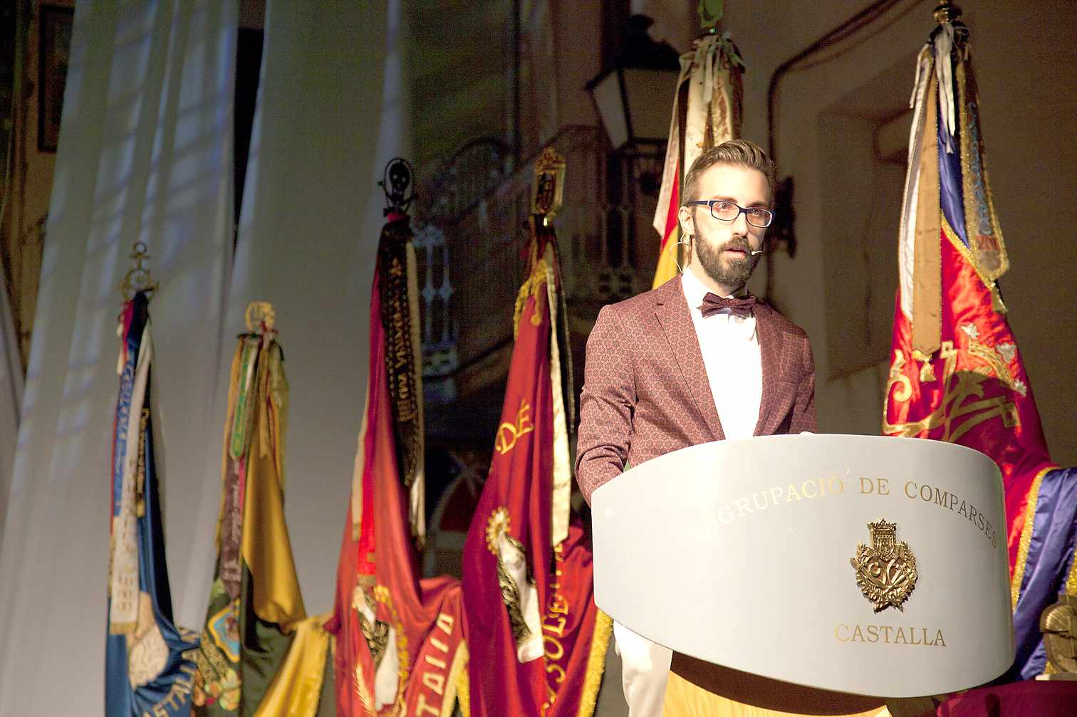 David Bornay Egido, nuevo presidente de la Agrupación de Comparsas de Castalla