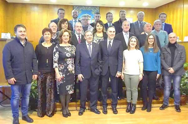 Arranca el mandato del nuevo equipo directivo de la Comisión de Fiestas de Ibi