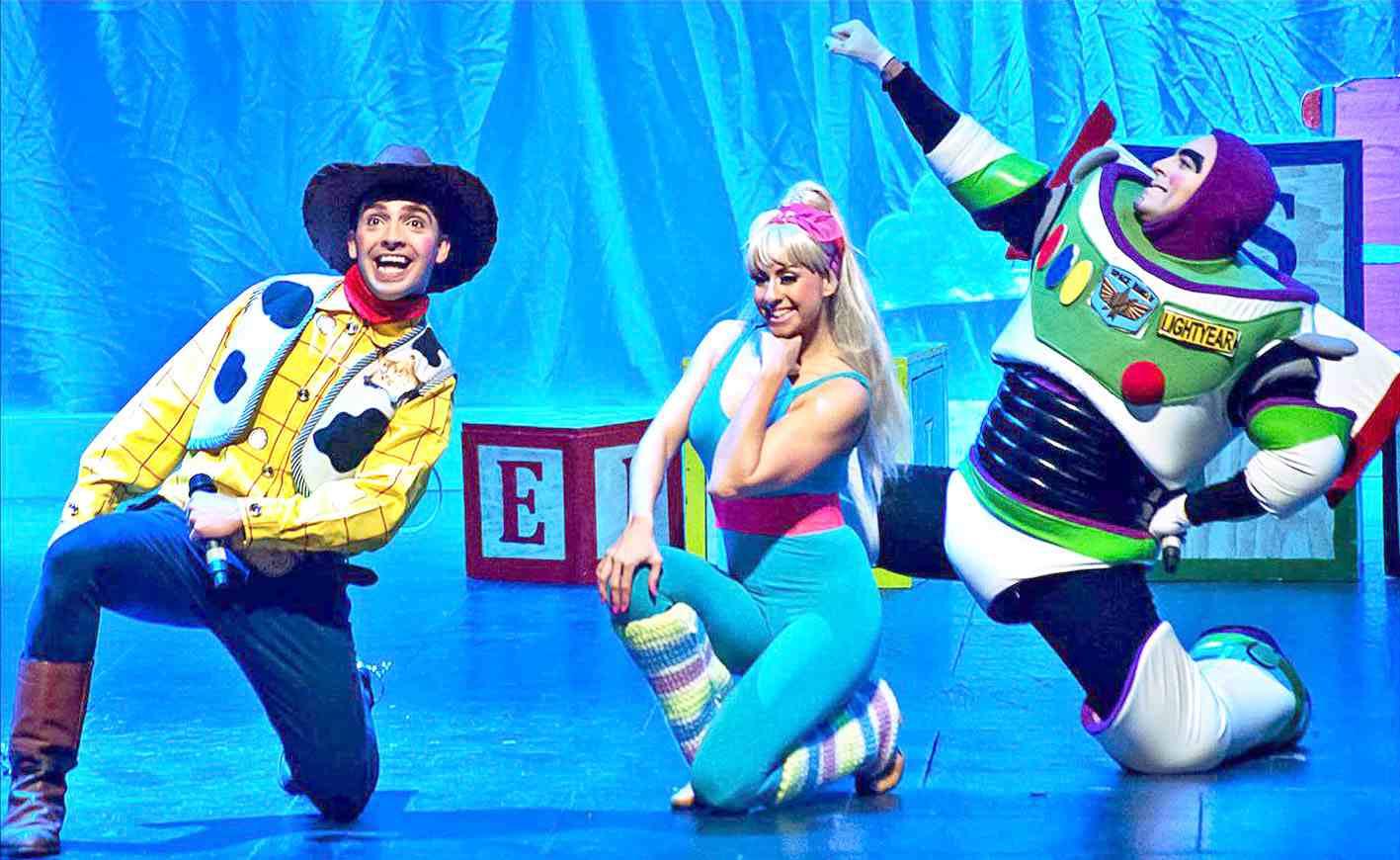 Els joguets més famosos cobren vida a l'Auditori de Castalla amb l'espectacle 'Toy Musical'