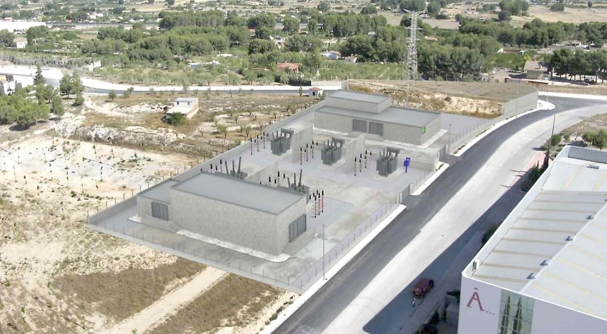 Las obras de la subestación eléctrica en Castalla podrán comenzar a mediados de febrero