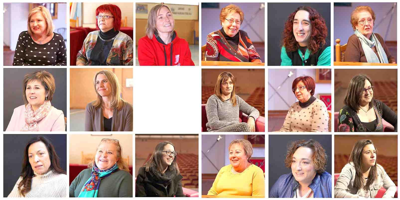 Mujeres de Castalla protagonizan un documental para conmemorar el 8 de Marzo