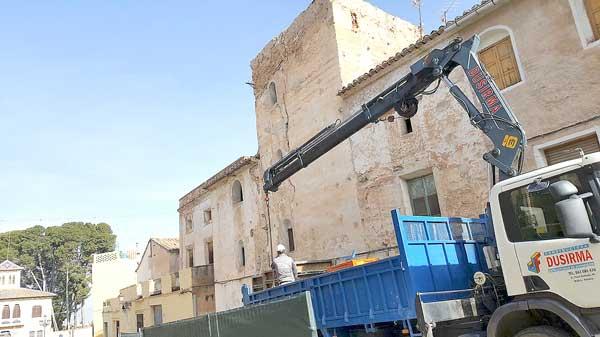 Comienzan las obras de restauración de la torre medieval en Biar