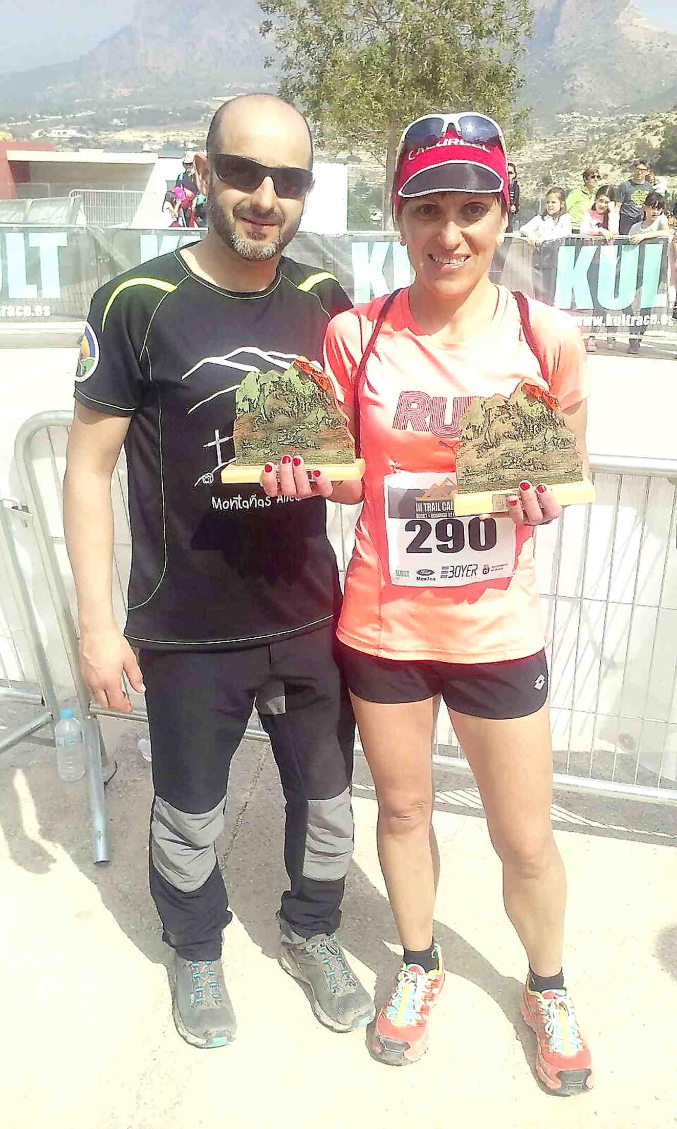 La ibense Dolores Roelas consigue dos podios en el tercer Trail del Cabeçó d'Or