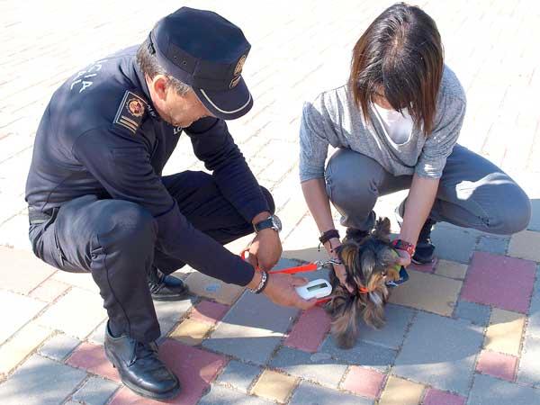 Nuevo lector de microchips para mascotas