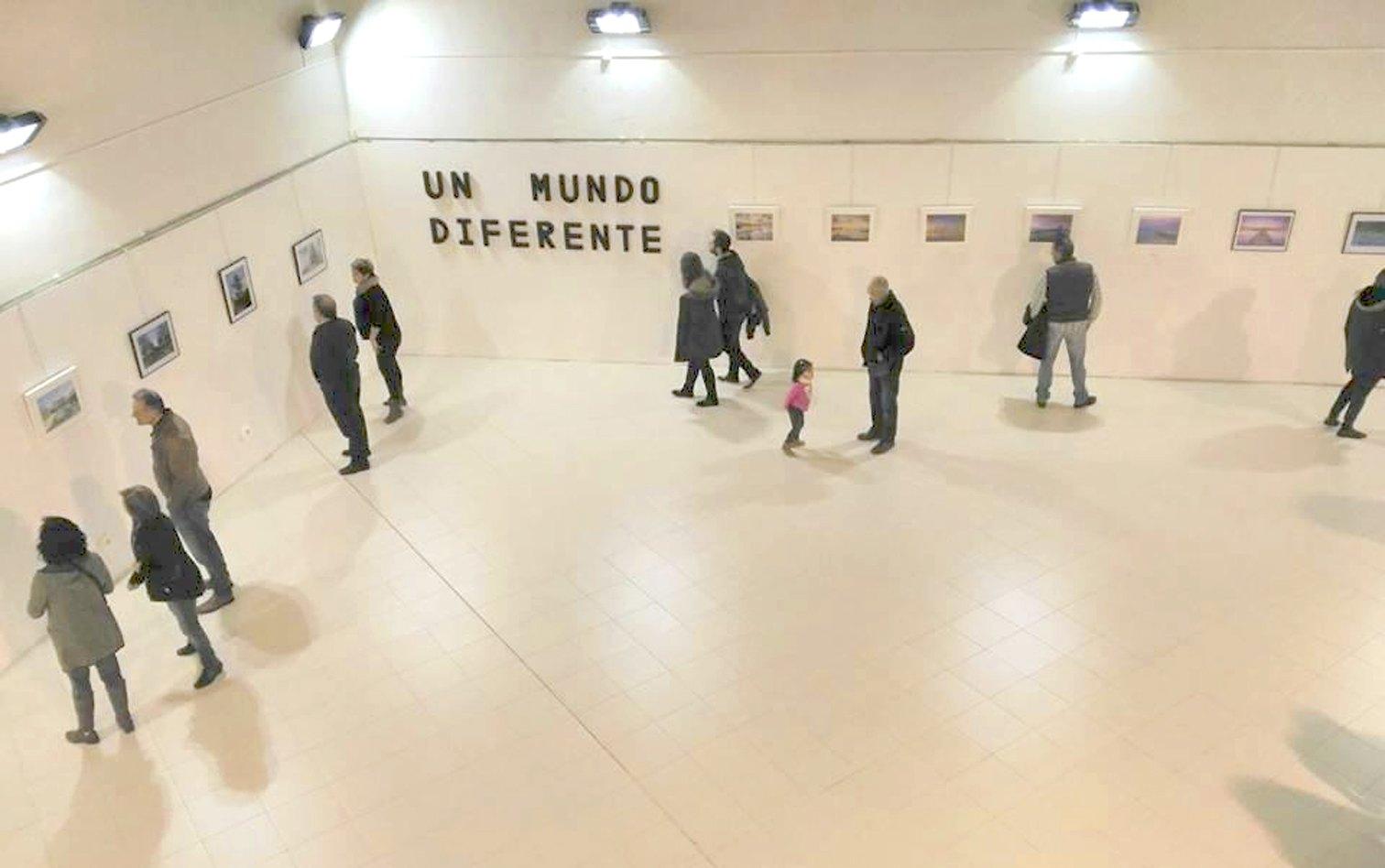 El fotógrafo Marcelo Reche expone sus paisajes en la Pinacoteca del Centro Cultural de Onil