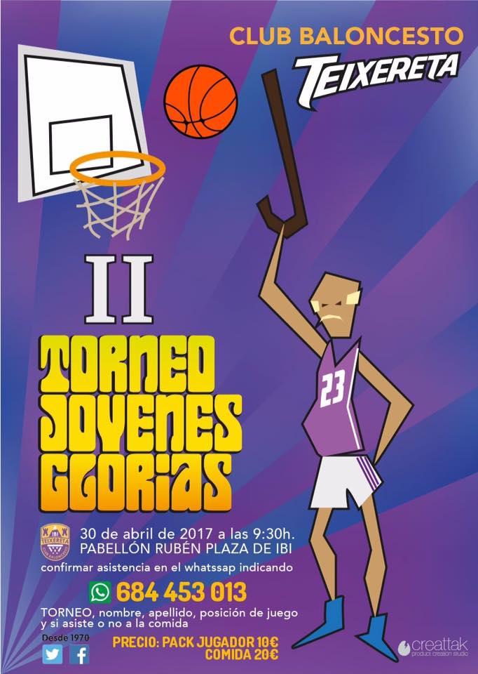 El Club Baloncesto Teixetera de Ibi organiza el segundo Torneo Jóvenes Glorias