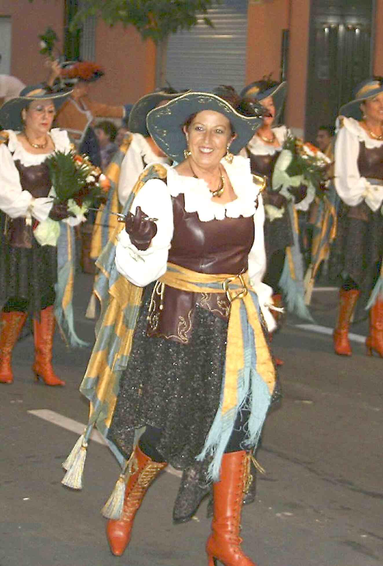 Dolores Davó, de la comparsa Mariners, pregonera de las próximas Fiestas de Castalla