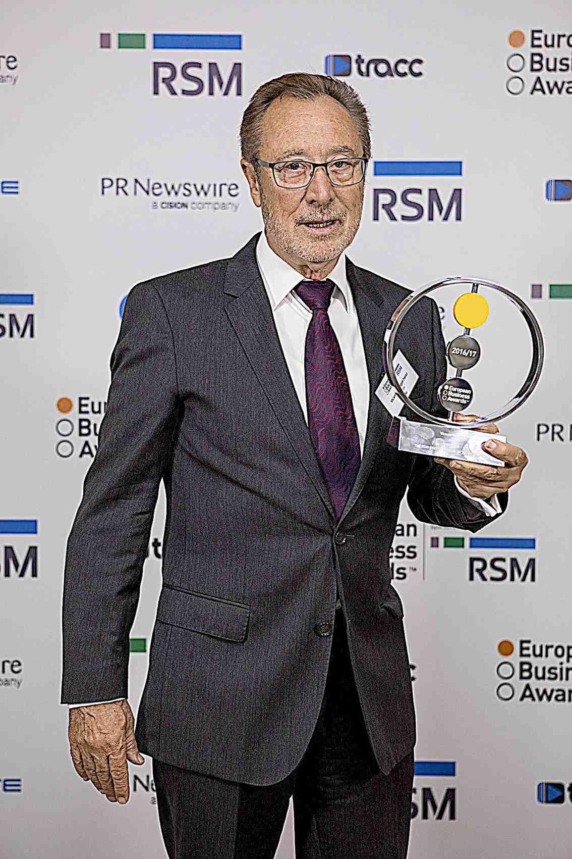 Vicent Berbegal, fundador de Actiu, elegido Empresario Europeo del Año
