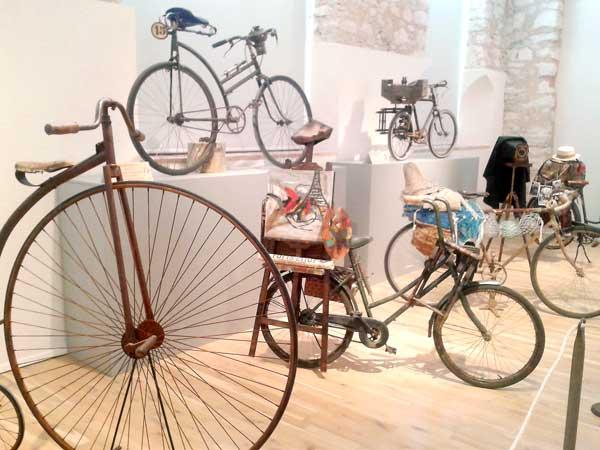 La historia de las bicicletas, en el Museo del Juguete de Ibi