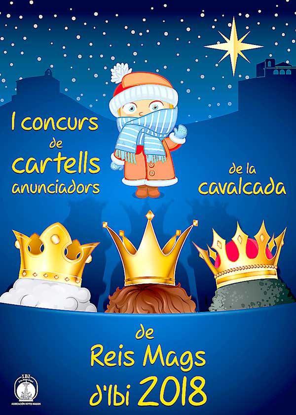 La asociación de Reyes Magos de Ibi convoca el primer concurso de carteles para la Cabalgata de 2018