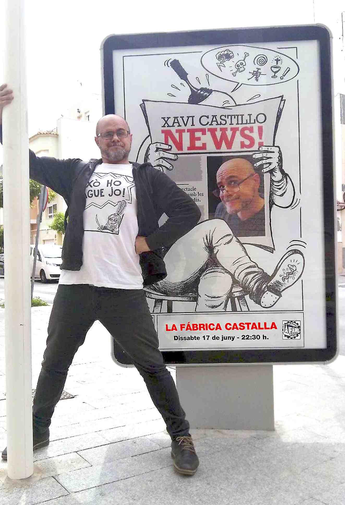 """Xavi Castillo: """"No hi ha humor d'esquerres o de dretes; existeix, simplement, l'humor"""""""