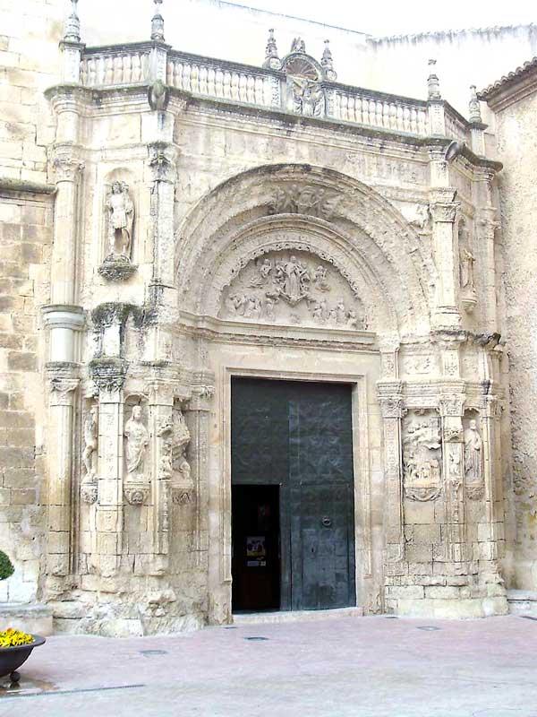 Empieza la rehabilitación de la portada plateresca de la Iglesia de Biar