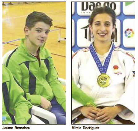 La Federación Española de Judo convoca a dos castallenses para el Campeonato de Europa Cadete