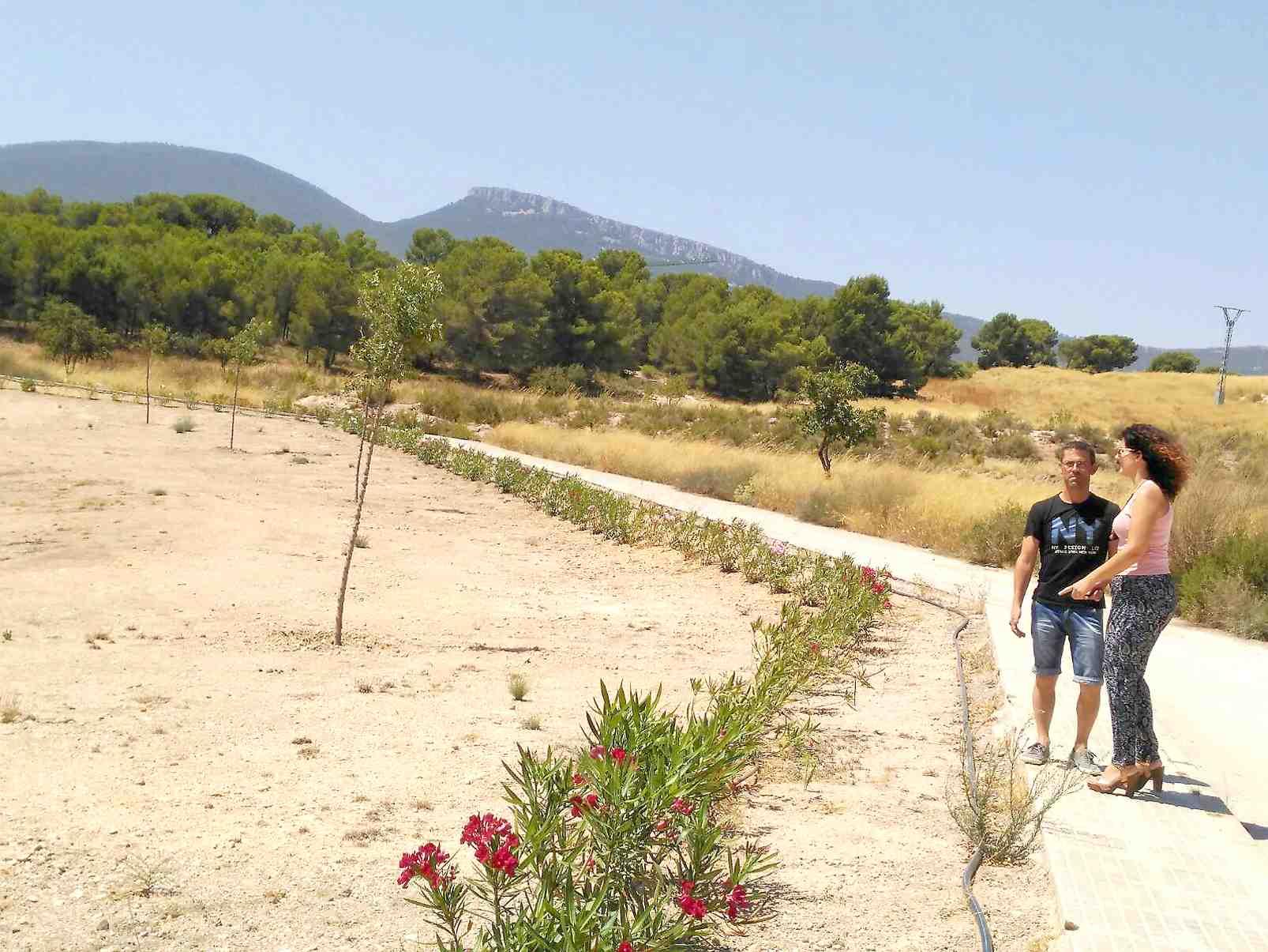 El Consistorio habilita un nuevo parque en Castalla Internacional
