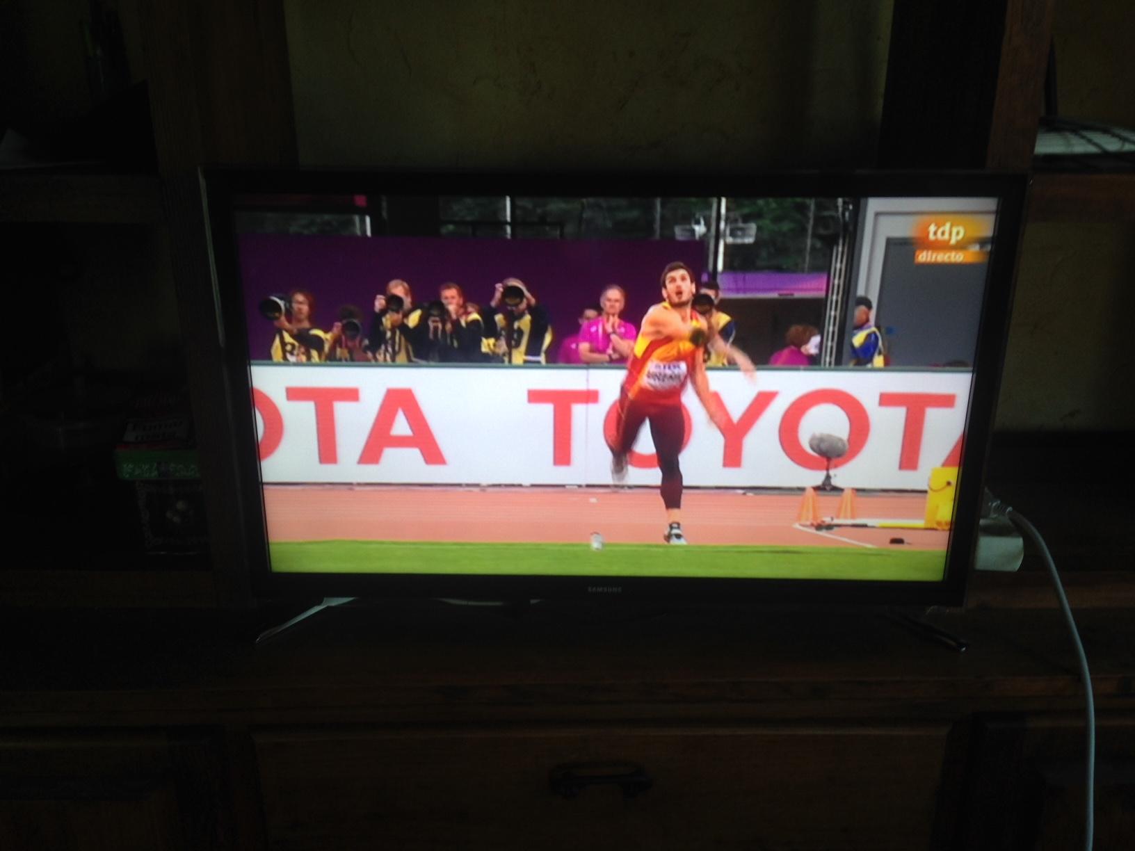 Jorge Ureña se alza con un noveno puesto en decatlón en los Mundiales de Londres