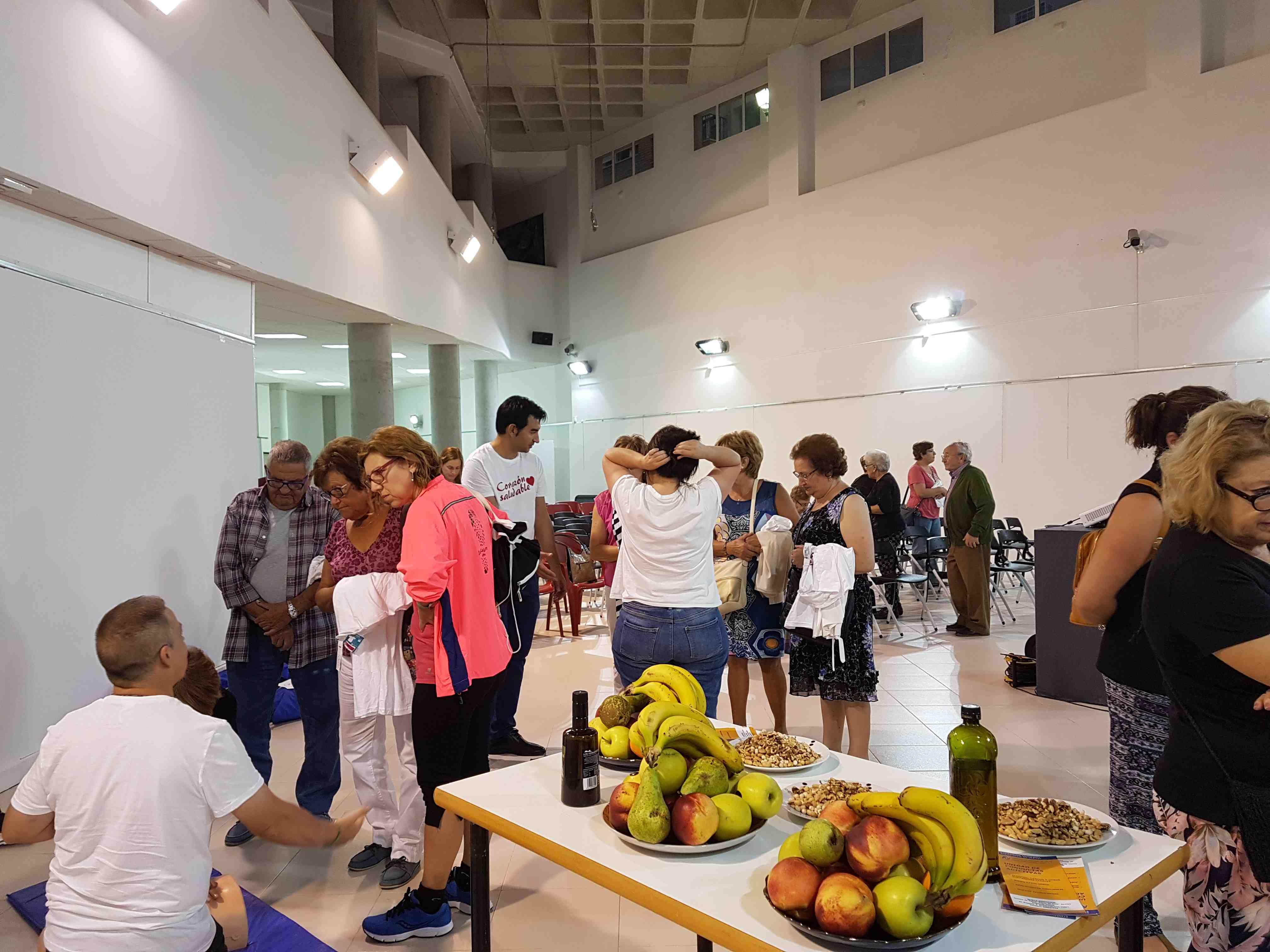 Más de cien participantes en el taller 'Corazón saludable' celebrado en Onil
