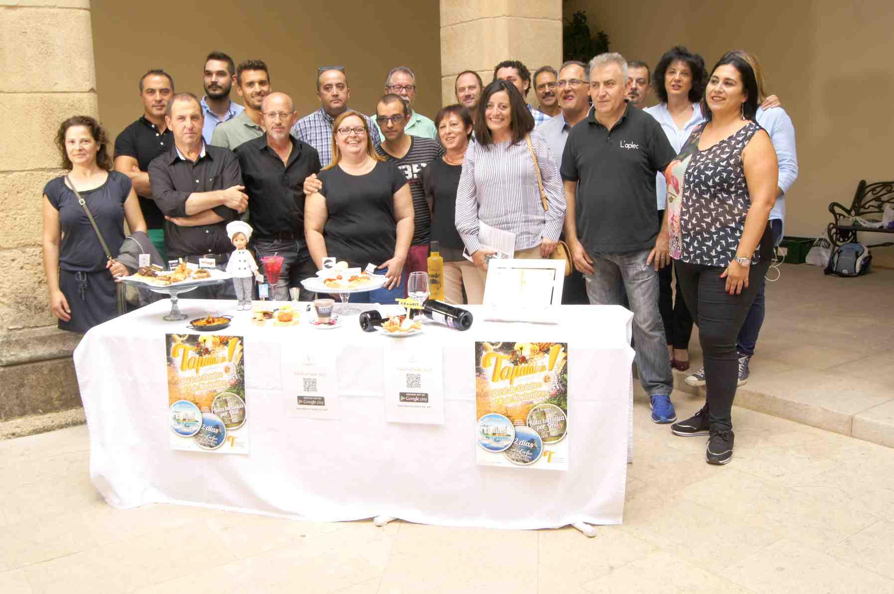 La Asociación de Hosteleros de Onil crea una App para participar en la segunda edición del Tapatatxán!