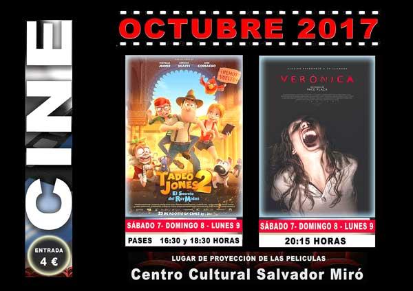 Programación de cine en Ibi y Castalla con películas de dibujos animados y de terror