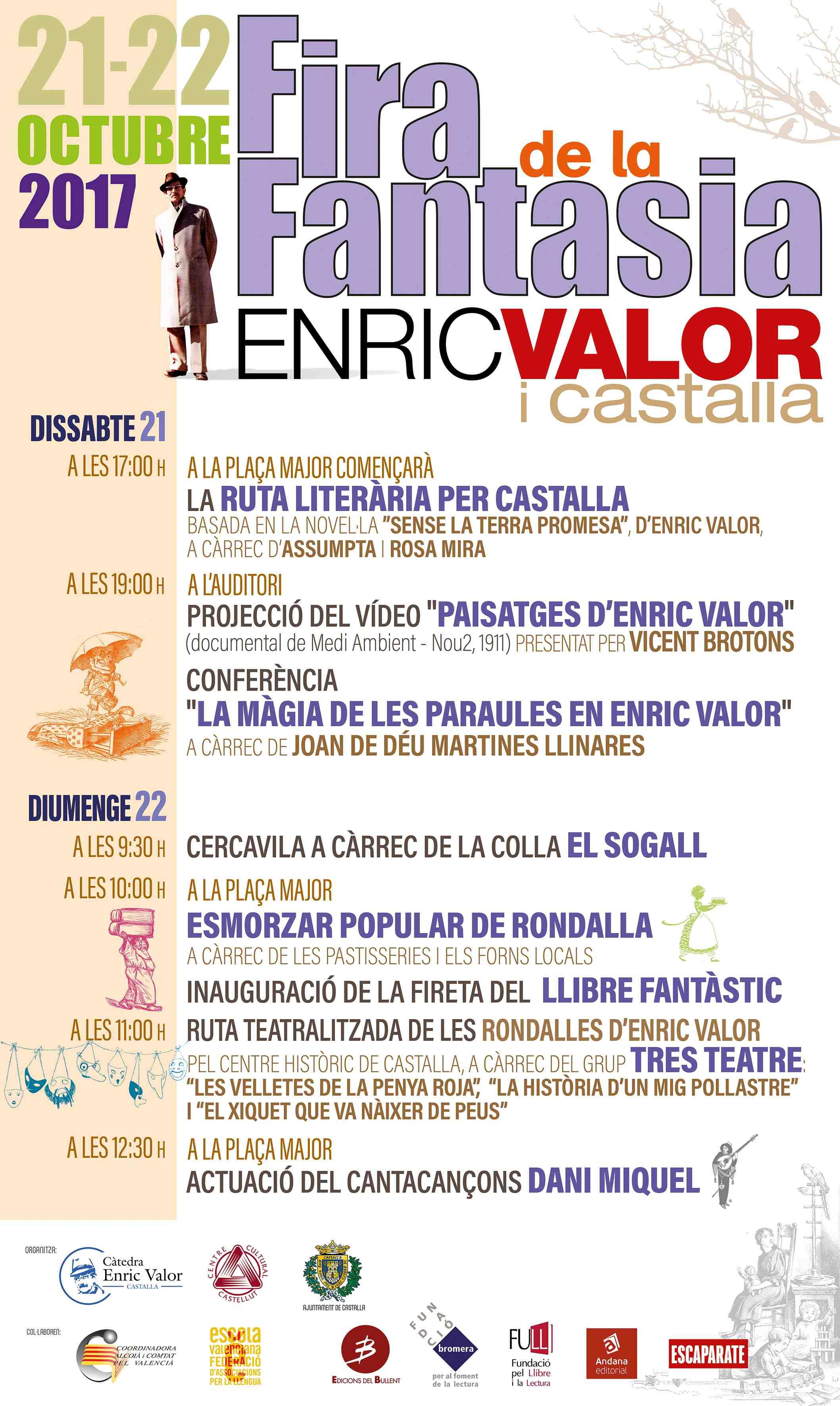Los días 21 y 22 de octubre, primera edición de la Fira de la Fantasia en Castalla
