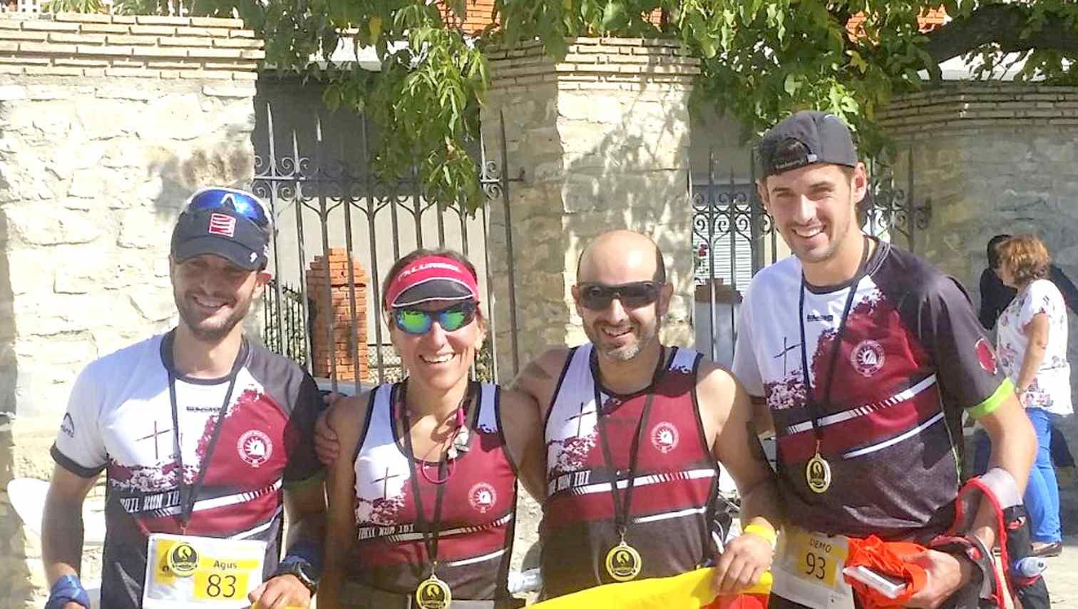 La veterana atleta ibense Loly Roelas gana un duro maratón en Granada