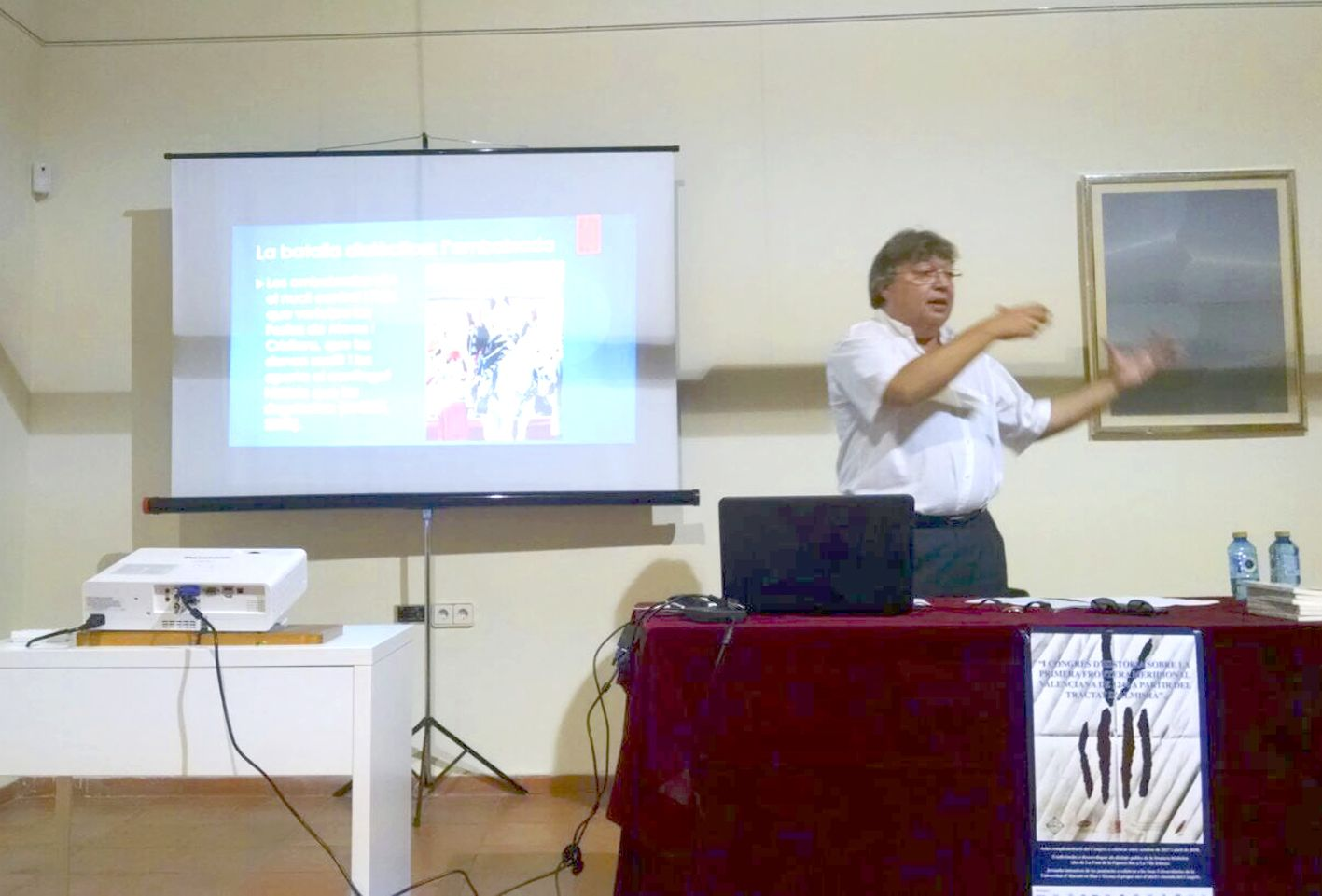 Dissabte 28 d'octubre, segona conferència sobre l'Ambaixada d'Onil