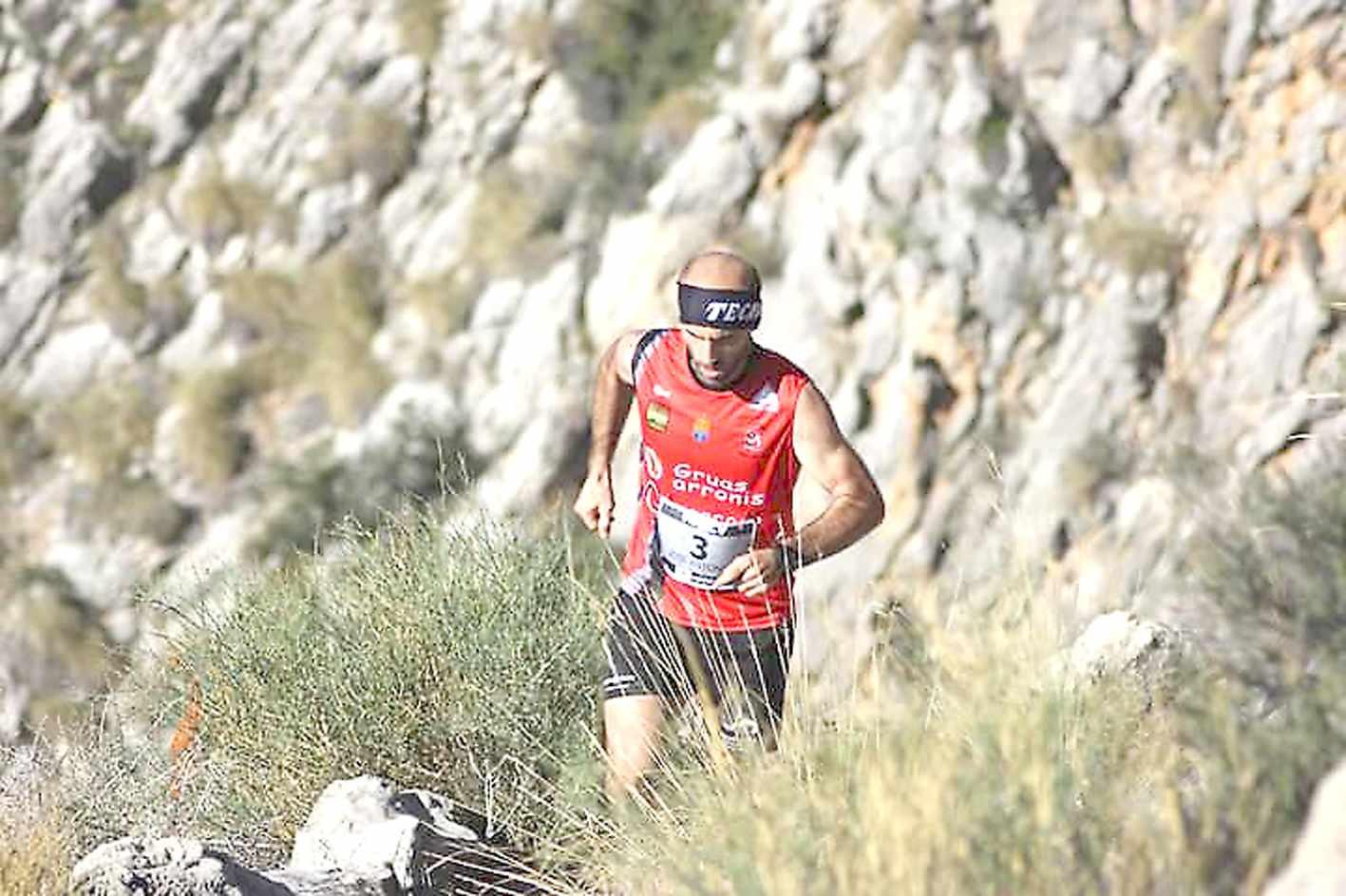 El atleta castallense José Antonio Luna, subcampeón autonómico de kilómetro vertical