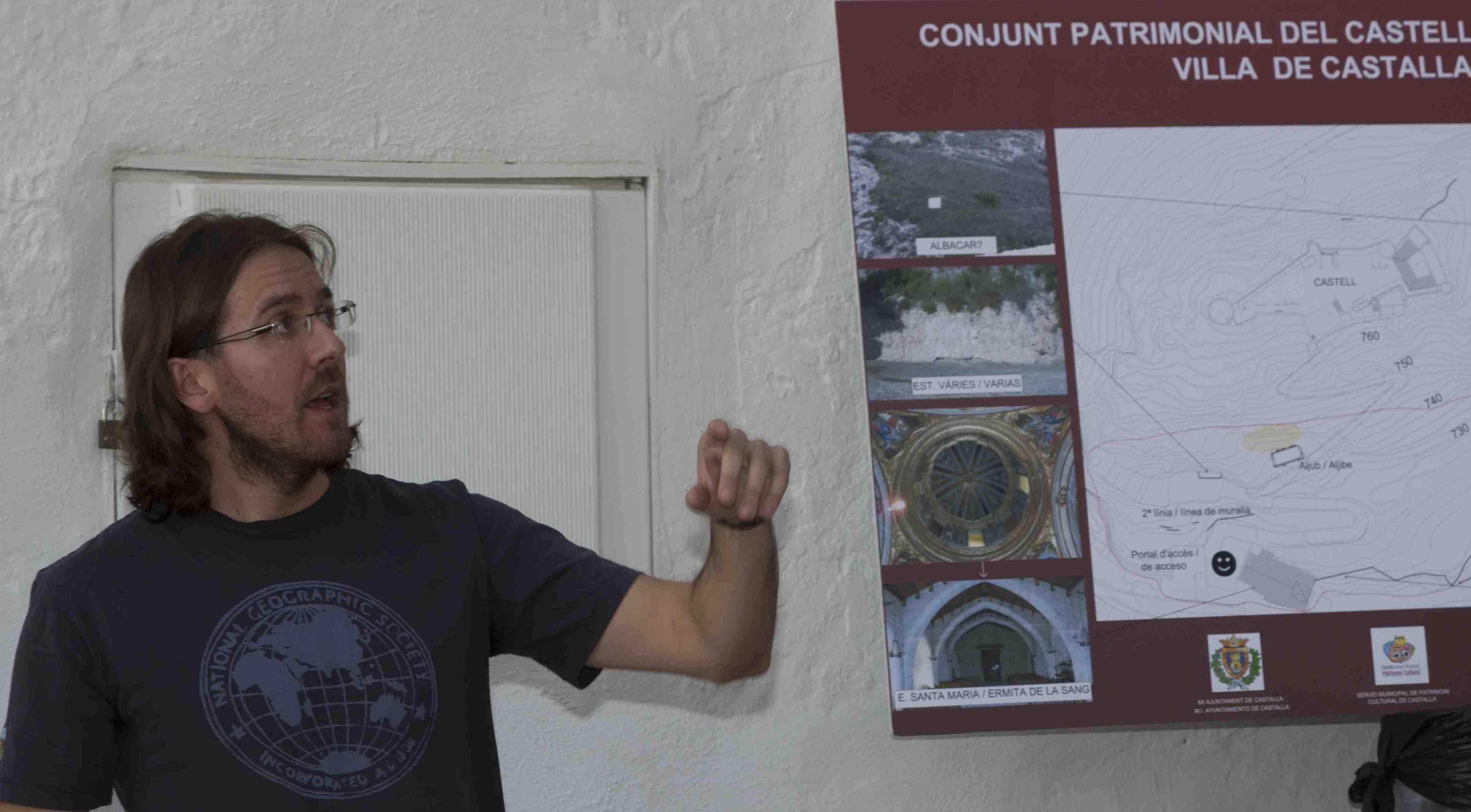 Una editorial británica publica la tesis del castallense Juan Antonio Mira sobre la gestión municipal de los castillos de la provincia de Alicante