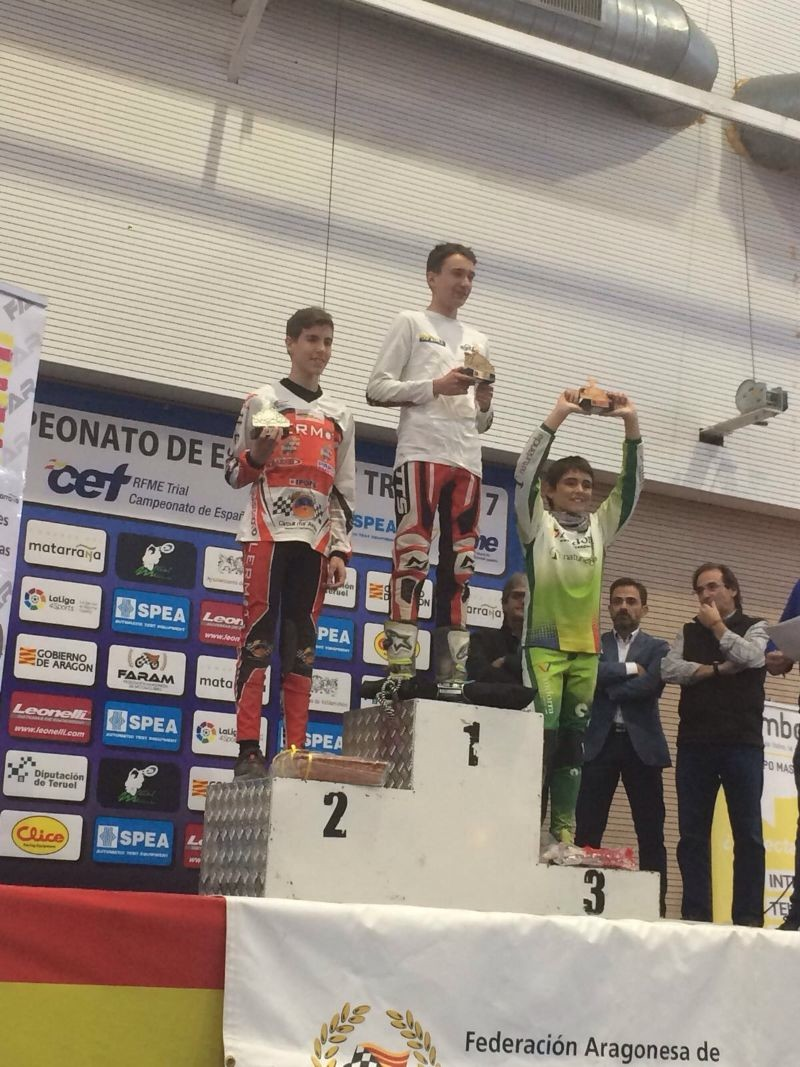 El piloto ibense Alejandro Climent Brotons gana la penúltima carrera del Campeonato de España de Trial
