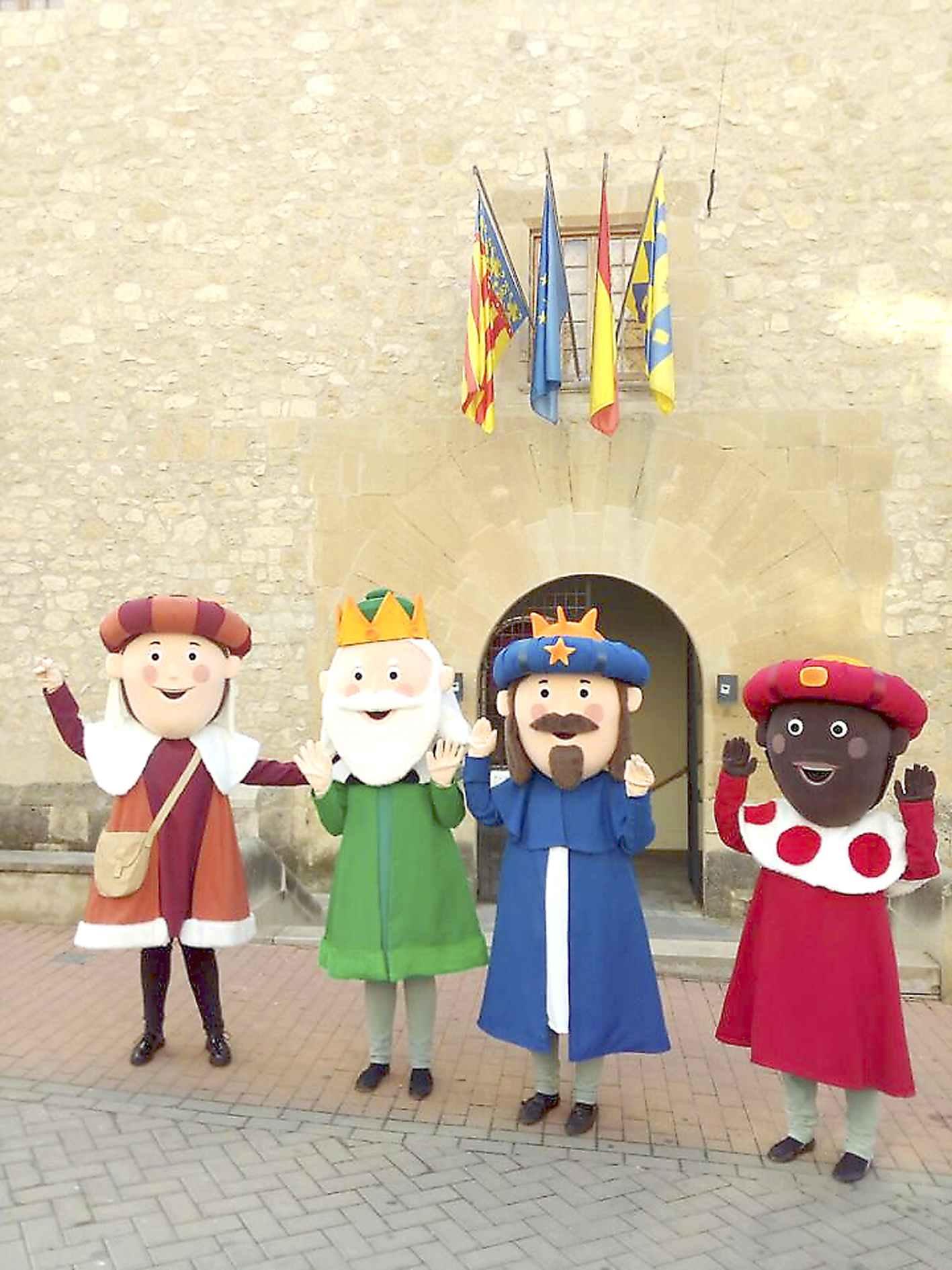 Els Reis Mags d'Onil presenten la seua revista