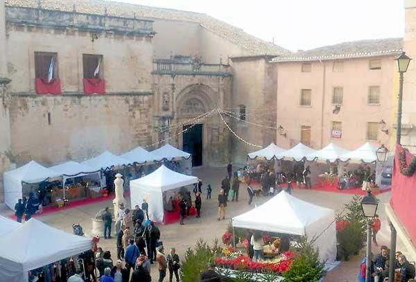 Biar celebra su mercado navideño 'Un cuento de Navidad'