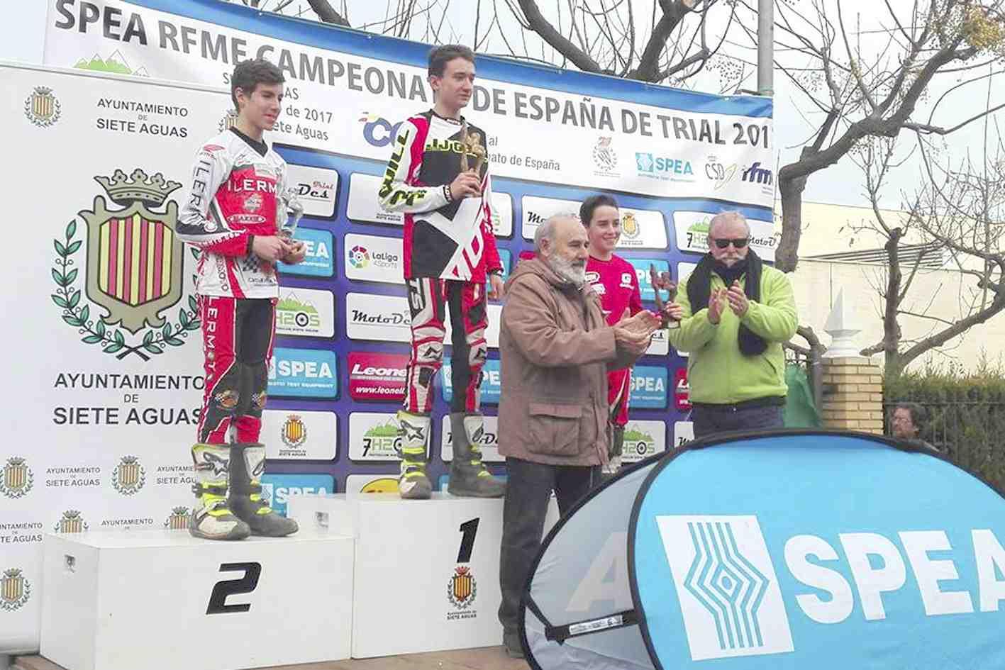 El ibense Alejandro Climent gana la última prueba del Campeonato de España de Trial y asciende de categoría