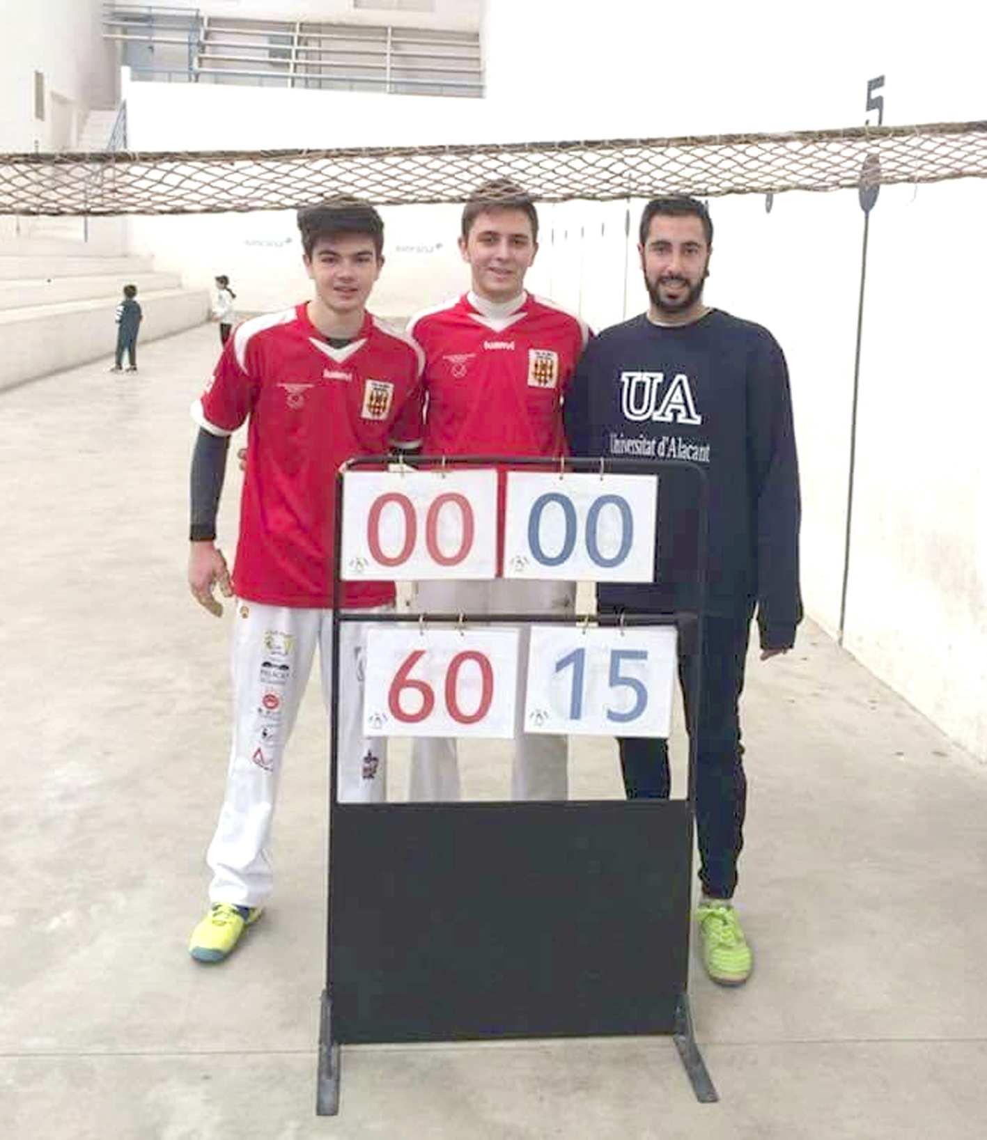El Nou Trinquet de Castalla acull el Campionat Autonòmic de Segona