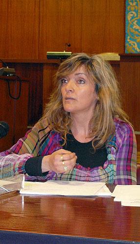 La Fiscalía pide dos años de prisión para la exedil Ana Sarabia por el caso de la caja B del Polideportivo