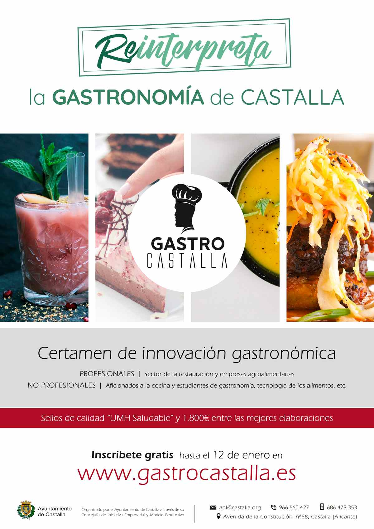 Últimos días para inscribirse en el primer certamen culinario GastroCastalla