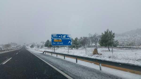 Se cumple el pronóstico y llegan las primeras nevadas