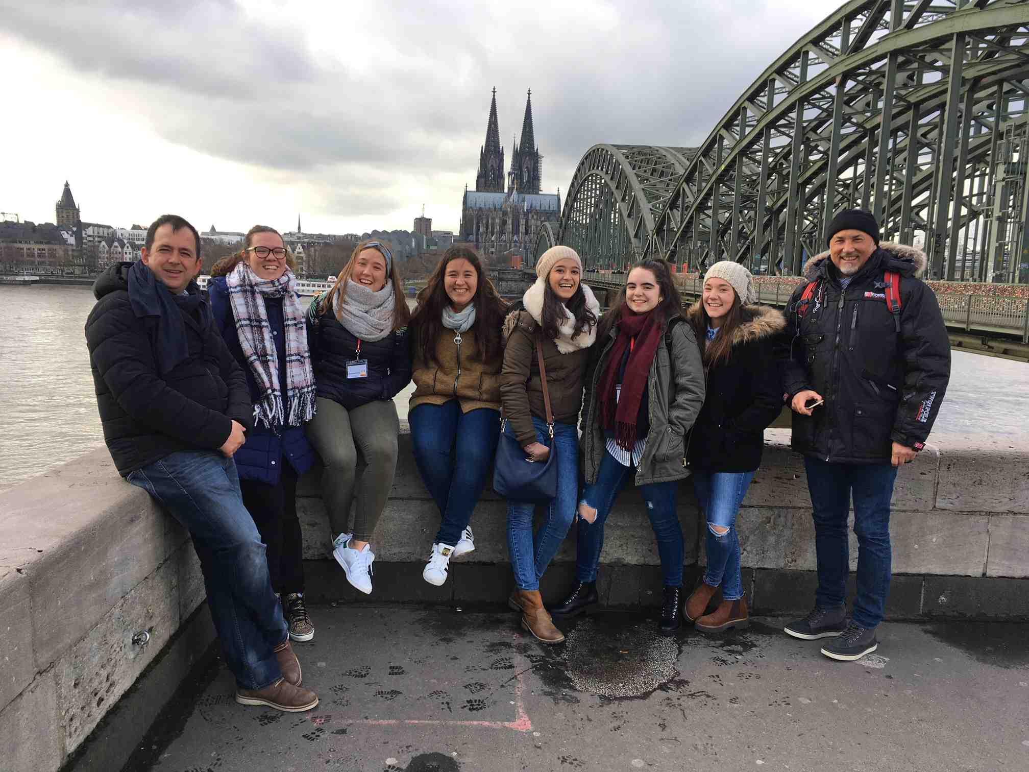 El IES La Creueta de Onil realiza un intercambio con seis países en Colonia (Alemania)