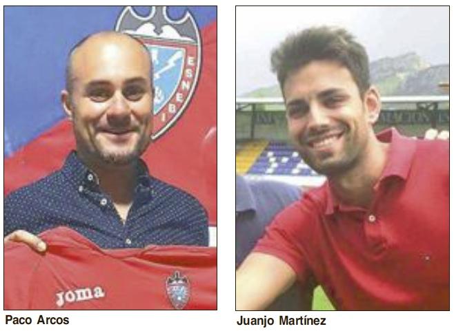 El contestano Juan José Martínez,  nuevo entrenador del Rayo Ibense tras la dimisión de Francisco Arcos