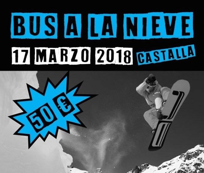 Castalla organiza viajes a las Fallas, a La Noche de Cadena 100 y a una estación de esquí
